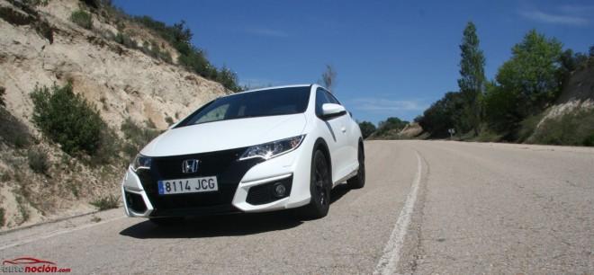 Prueba Honda Civic Sport 1.6 i-DTEC 120 CV: Aspecto más radical que nunca, con el equilibrio mecánico de siempre