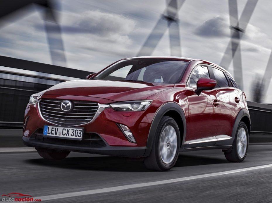 El Mazda CX-3 ya tiene precio: El diésel arranca en los 21.795 € con 105 CV y tracción delantera
