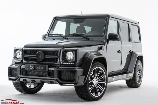 Estética imponente, 730 CV de potencia y más de 1.000 Nm de par para el Mercedes G63 AMG de IMSA