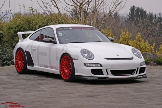 La dieta KAEGE: 60 kg menos y 20 CV más para el Porsche 911 GT3 (997)