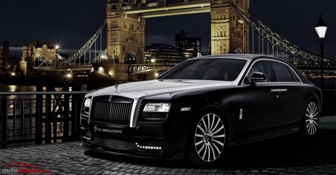 Rolls-Royce Ghost St Moritz, el lado más salvaje del lujoso modelo británico gracias a Onyx Concept