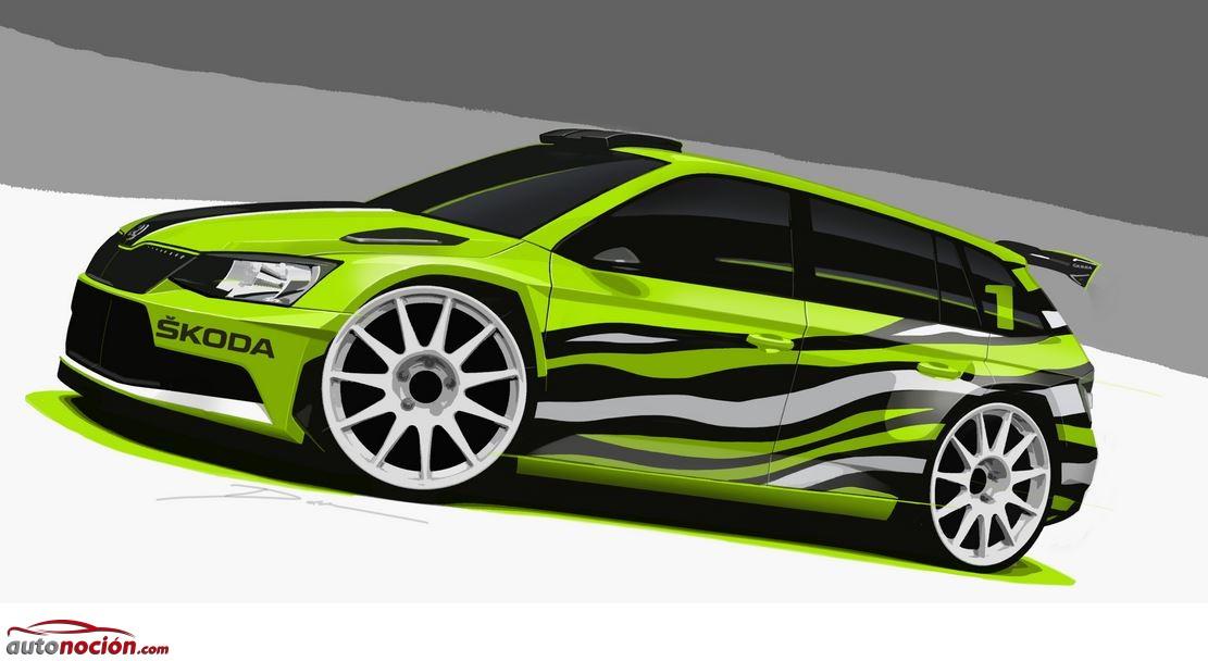 Škoda Fabia Combi R5: El concept de rally más familiar