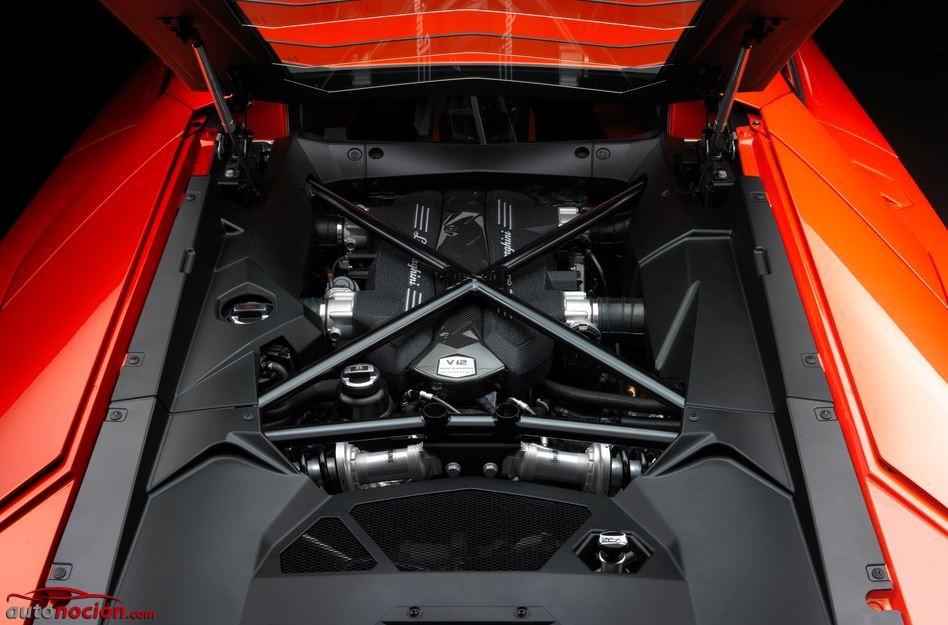 Al detalle: Así es el motor V12 de 6.498 cc del Lamborghini Aventador LP 700-4