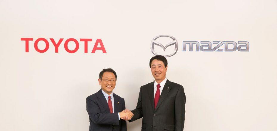 Mazda y Toyota se alían: Uso de tecnologías híbridas a cambio del uso de una factoría