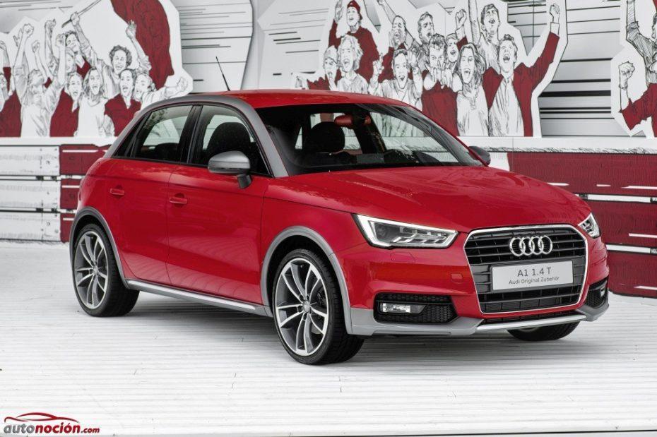 Audi lleva al Wörthersee el A1 Active Kit: Aspecto crossover para el polivalente alemán por 1.800 € adicionales