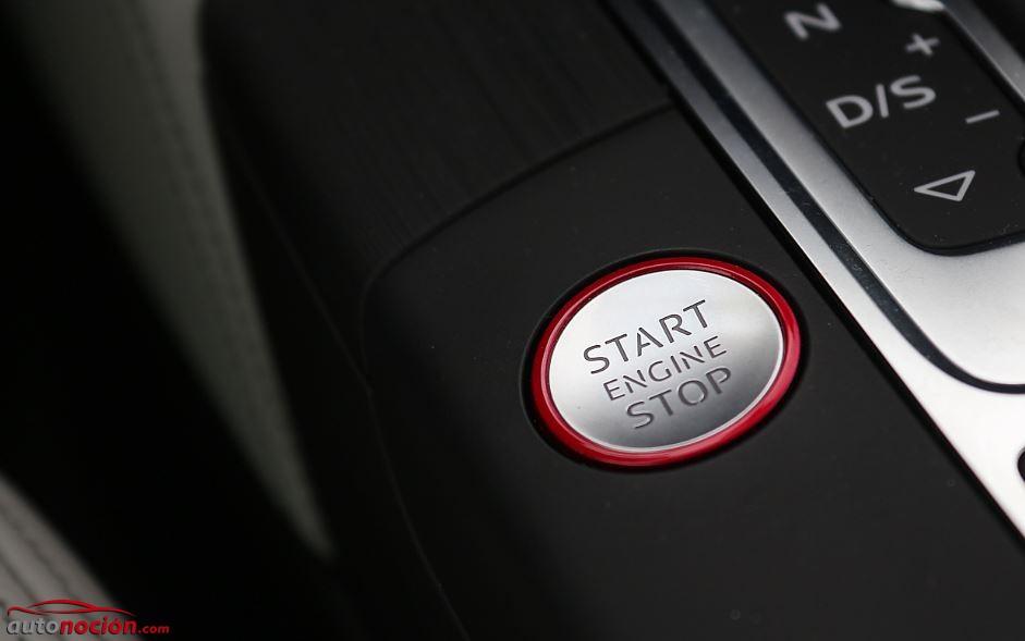 botón arranque audi s3