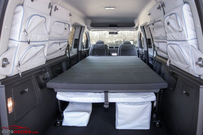 nuevo volkswagen caddy beach m xima libertad en formato. Black Bedroom Furniture Sets. Home Design Ideas