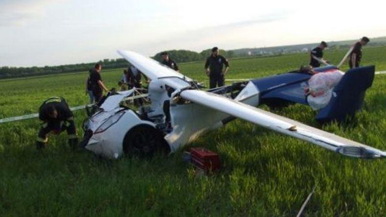 El coche volador, también conocido como Aeromobil, se estrella durante una prueba