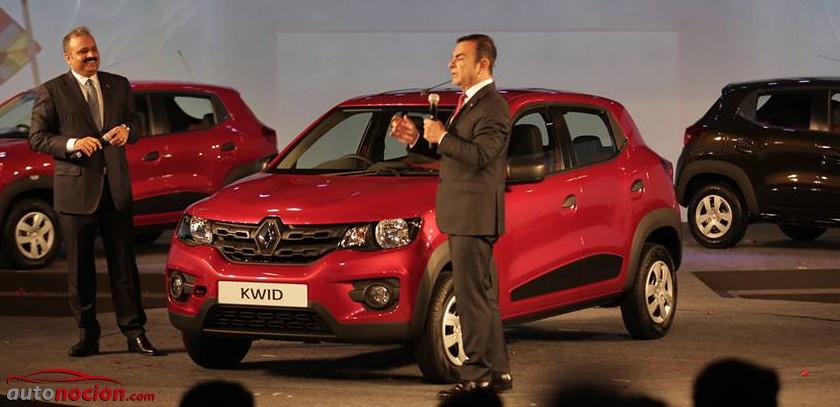 El Kwid no se comercializará en Europa con la marca Dacia: ¿Tal vez con logo Renault?