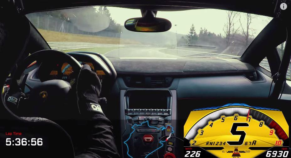 El Lamborghini Aventador SV para el crono de Nürburgring en 6:59.73: ¡Esto es ser rápido!
