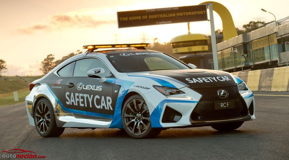 lexus rcf safety car