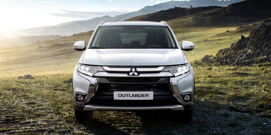 Así luce el renovado Mitsubishi Outlander para Europa: nuevas imágenes del SUV con siete asientos