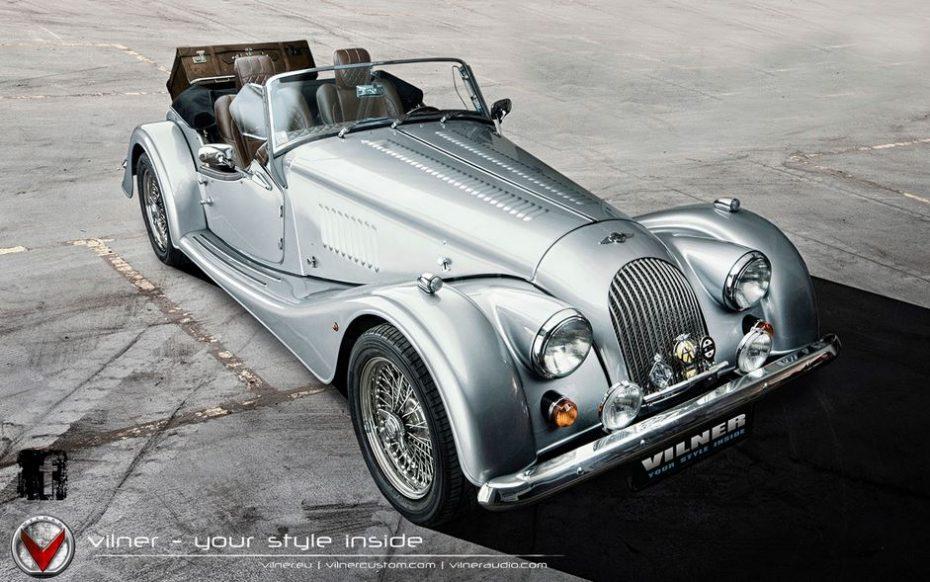 Morgan Plus 8: Ahora con un interior más clásico y trabajado gracias a Vilner