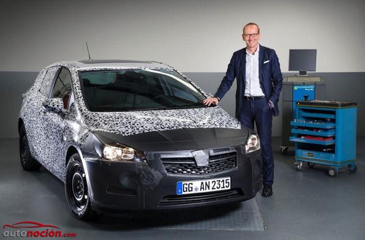 Primeros detalles oficiales del próximo Opel Astra: Hasta 200 kg más ligero, más pequeño, más espacioso y mucho más eficiente y seguro