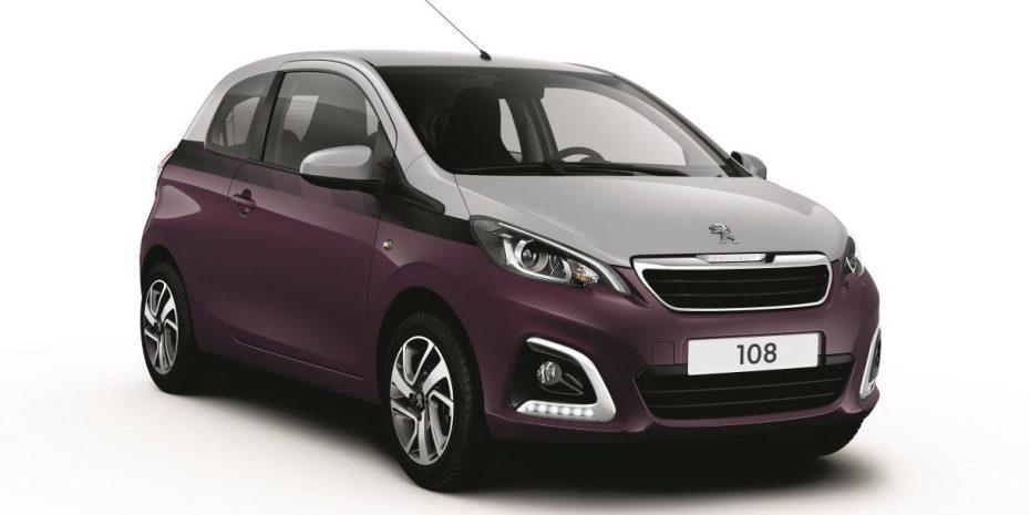 """La carroceria bitono aterriza en el Peugeot 108: Llega la serie especial """"Dual"""""""