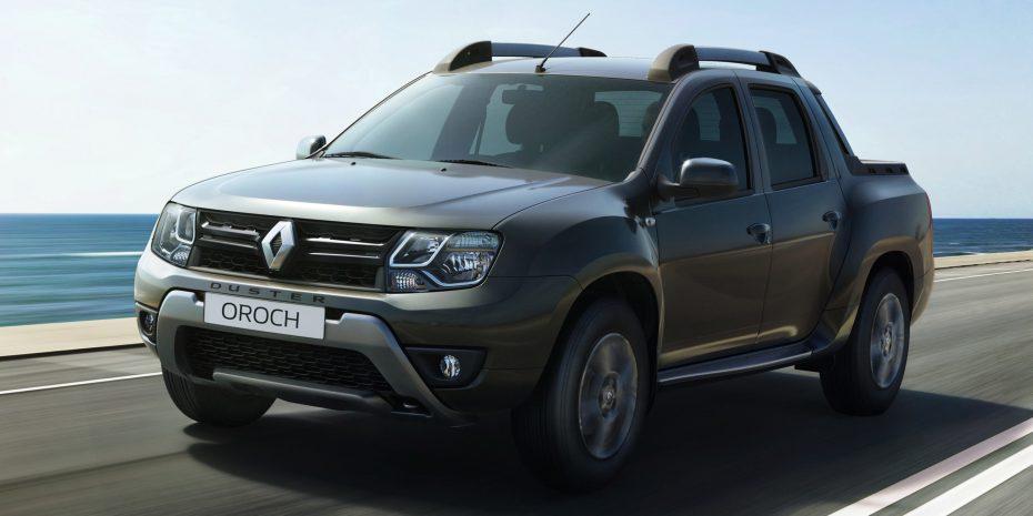 Saluda al nuevo Renault Oroch: doble cabina y generosa caja con base Duster