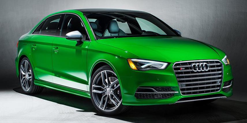 Audi presenta los S3 Exclusiv Edition: 300 CV y unos colores tan vivos que no podrás dejar de mirarlos