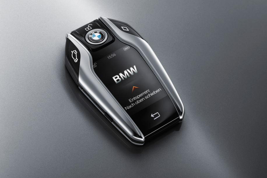 BMW Display Key: La llave que puede llevar el Serie 7 es mejor que muchos smartphones