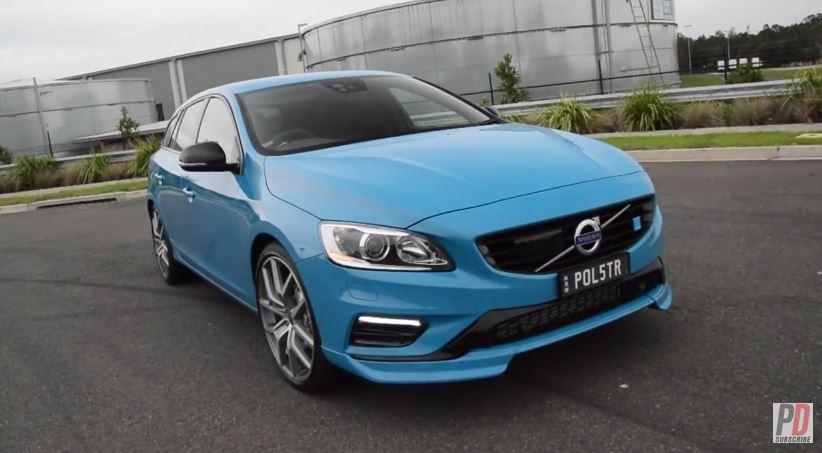 [Vídeo] Así suena el Volvo V60 Polestar: Un sueco con 350 cv y 500 Nm de par