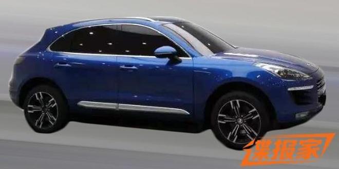 Zotye copia el Porsche Macan y se queda tan ancho: Costará en China cuatro veces menos que el original