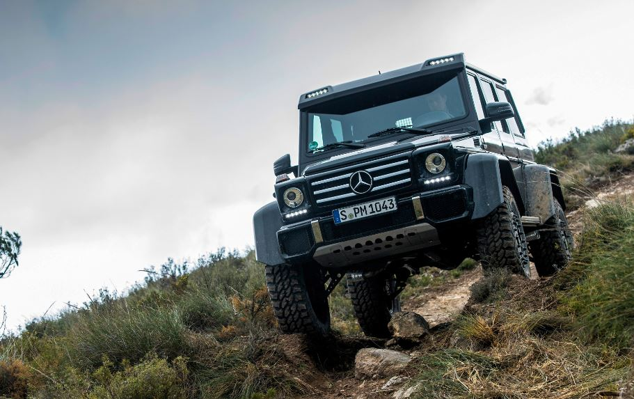 Mercedes-Benz G 500 4×4²: Te llevará a los sitios más complejos desde 226.100 euros