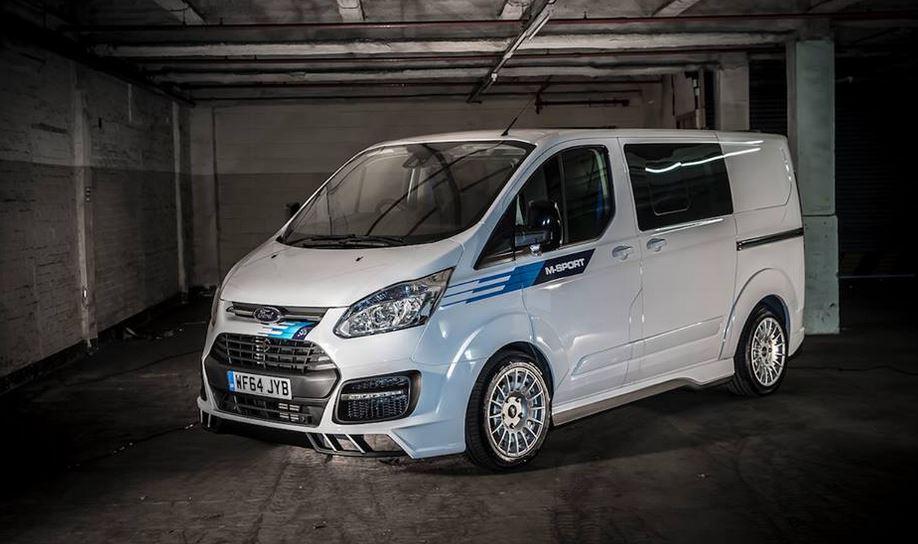 155 CV y por encima de los 40.000 euros: El precio y más detalles de la Ford Transit Custom WRC Limited Edition