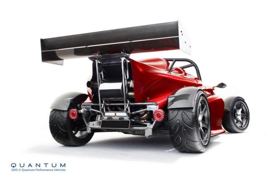 Quantum GP700: Lo más parecido a un F1 en miniatura tiene 700 CV y pesa sólo 700 kg
