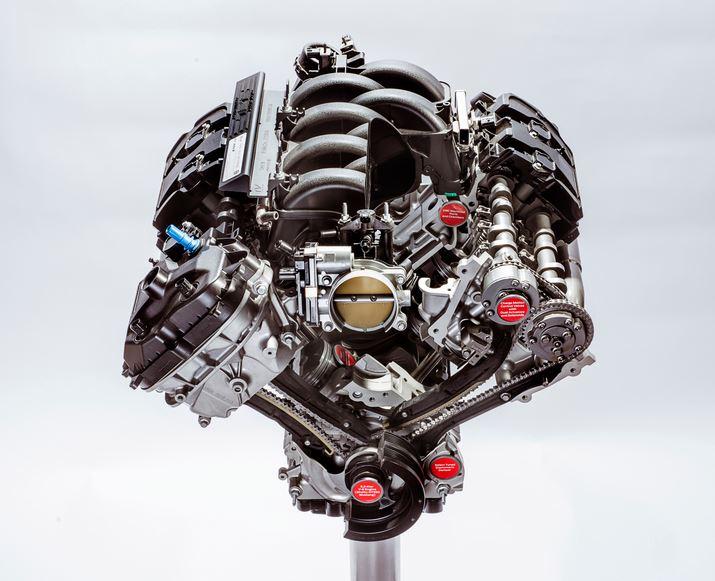 Así es el motor atmosférico más potente de la historia de Ford: Un V8 de 5.2 litros que fija su línea roja en las 8.250 rpm