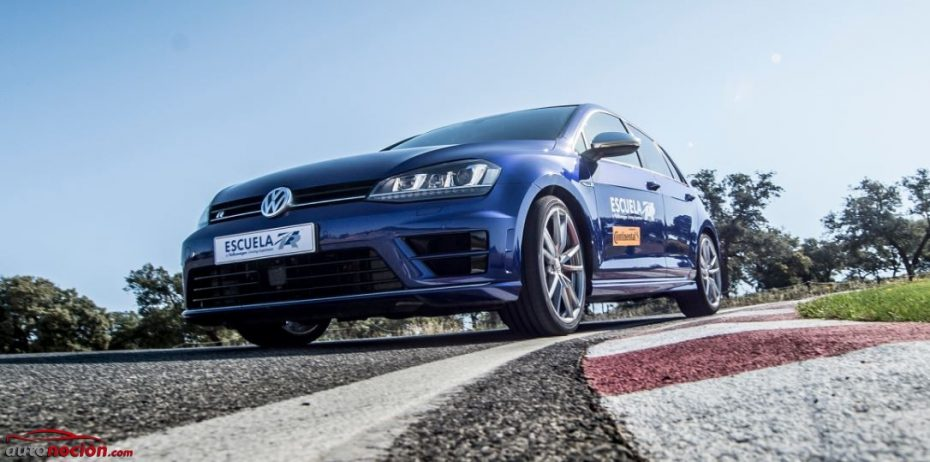"""Volkswagen y sus """"cursos para el pueblo"""": Así es la Escuela R con los Golf R, Scirocco R y Polo GTI…"""