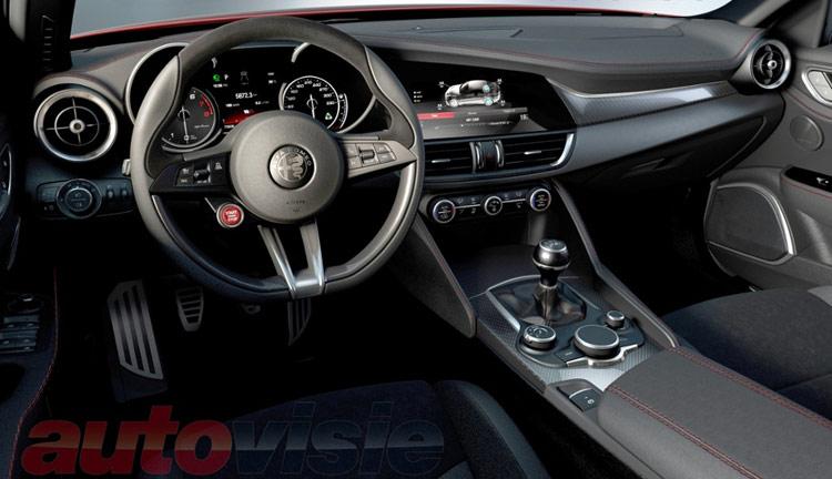 ¡Filtrado!: Así de racing es el interior del nuevo Alfa Romeo Giulia