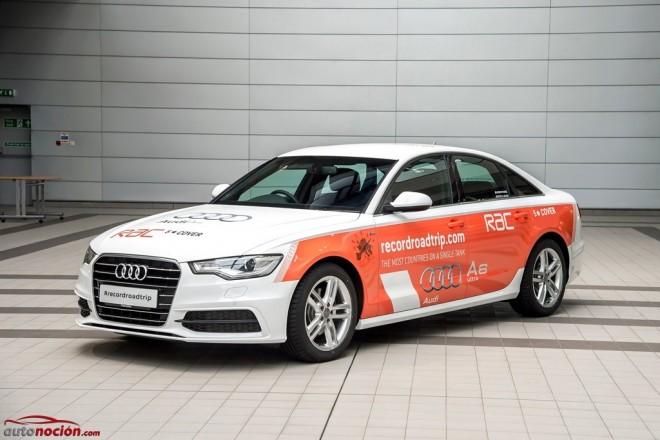 Audi se lanza a la conquista del Record Guiness de consumo al volante de un A6 2.0 TDI Ultra