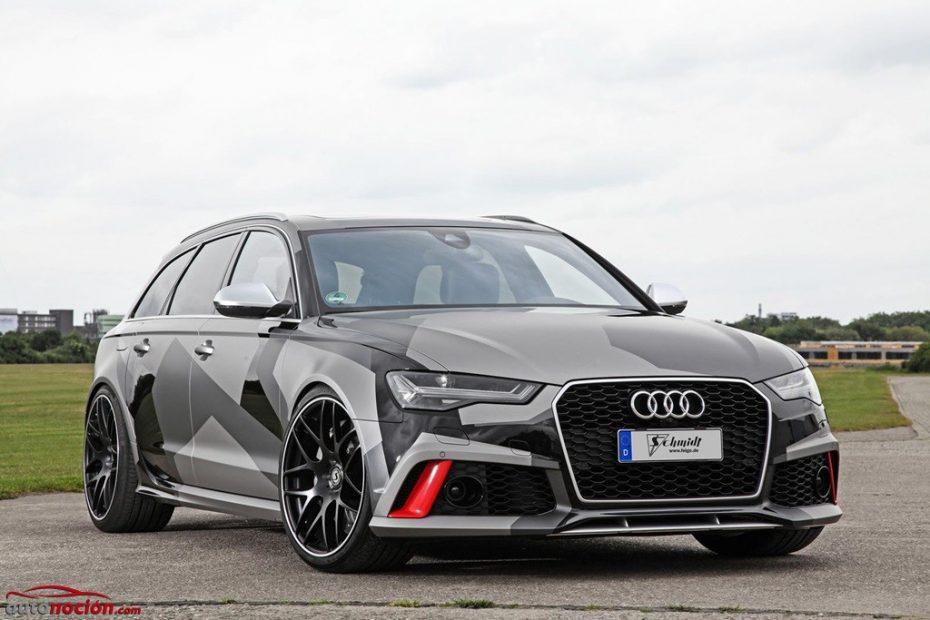 ¡Atrevido y radical! Así luce el Audi RS6 de 695 CV creado por Schmidt Revolution