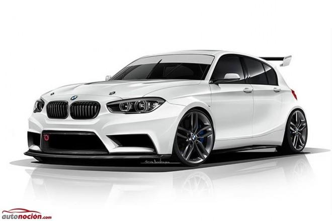 ADF Motorsport nos propone un suculento y radical BMW Serie 1 para circuito
