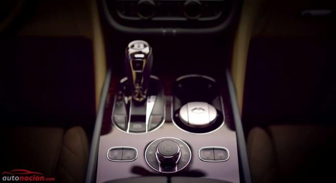 Bentley nos revela más detalles de su nuevo SUV. El interior del Bentayga, ahora en vídeo