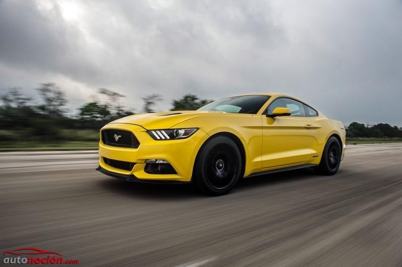 Prepárate: En 2020 verás un Ford Mustang híbrido, y será más salvaje que el actual V8