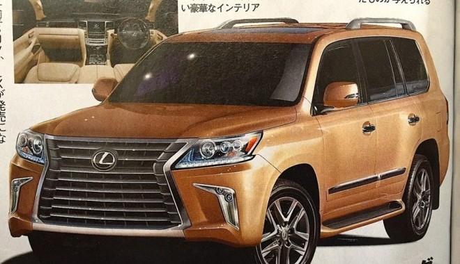 ¡Filtrado!: Así lucen los gigantescos SUV que Toyota y Lexus renovarán tras este verano