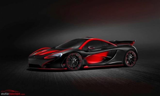 Si Satán tuviera coche, sería el último McLaren P1 creado por Special Operations