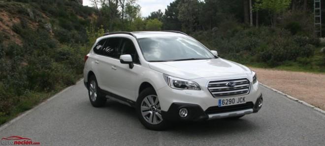 Prueba Subaru Outback 2.0 TD Lineartronic: más capaz, más refinado, más Subaru
