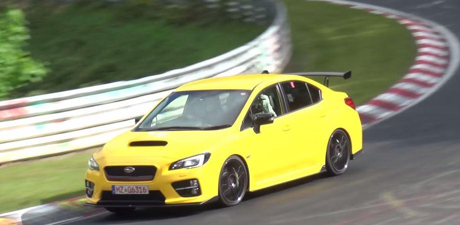 Un Subaru WRX STI más picante rueda por Nürburgring: ¿Qué nos tiene preparado la marca?