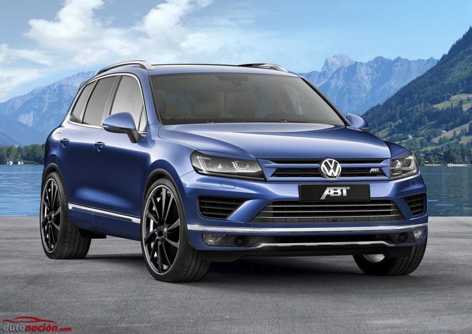Discreto pero matón: Así luce el Volkswagen Touareg potenciado por ABT Sportsline
