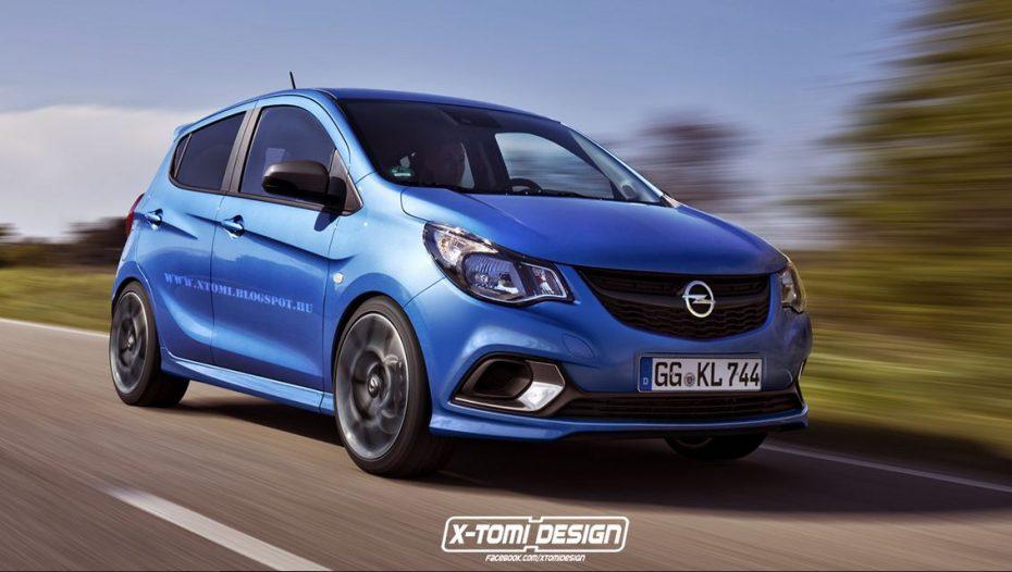 Así sería el Opel Karl OPC: ¿Llegaremos a ver una variante de acceso OPC?