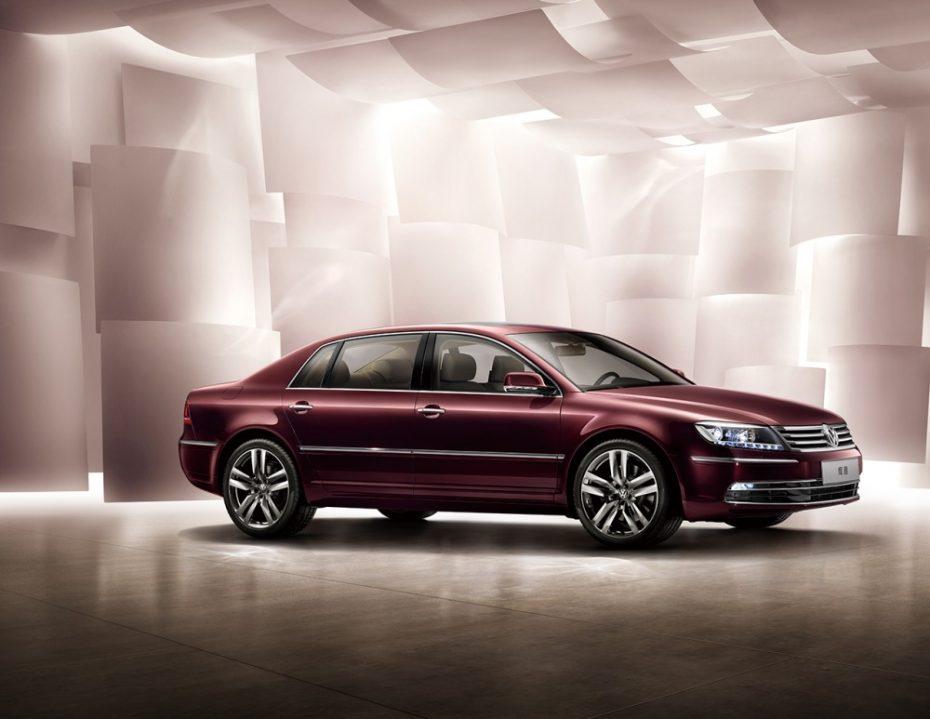 El Volkswagen Phaeton se pone al día, por ahora en China: Más lujo y distinción para el modelo