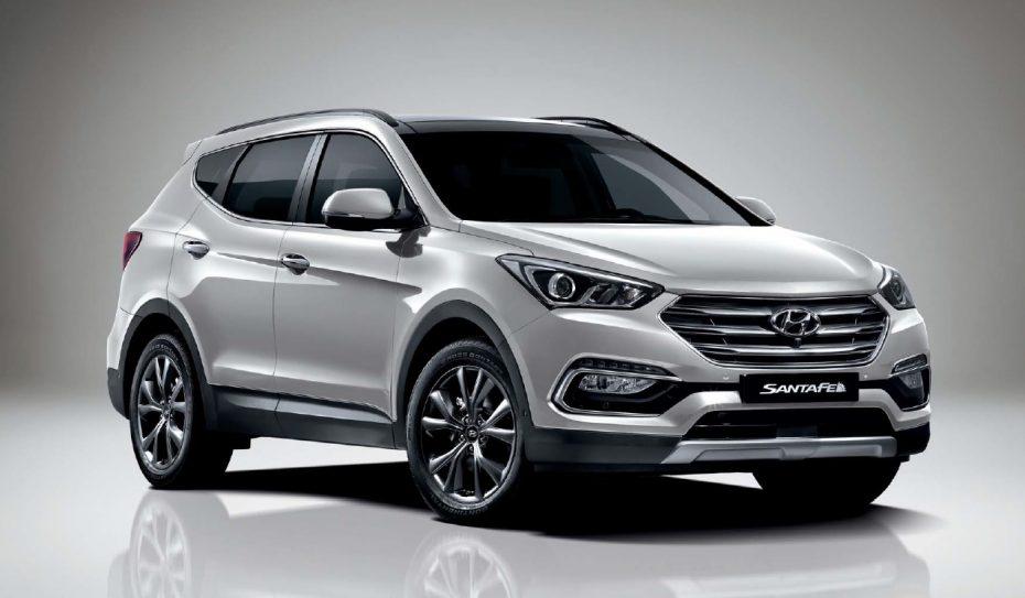 El Hyundai Santa Fe estrena cara y otras mejoras: De momento sólo en Corea pero llegará a Europa