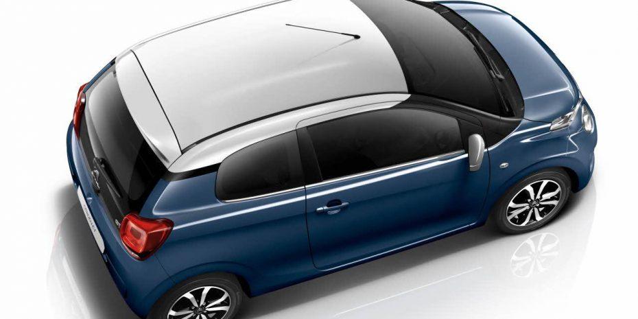 La nueva gama Citroën C1 estrena divertidas combinaciones de color: Además llega el asistente de cambio de carril involuntario