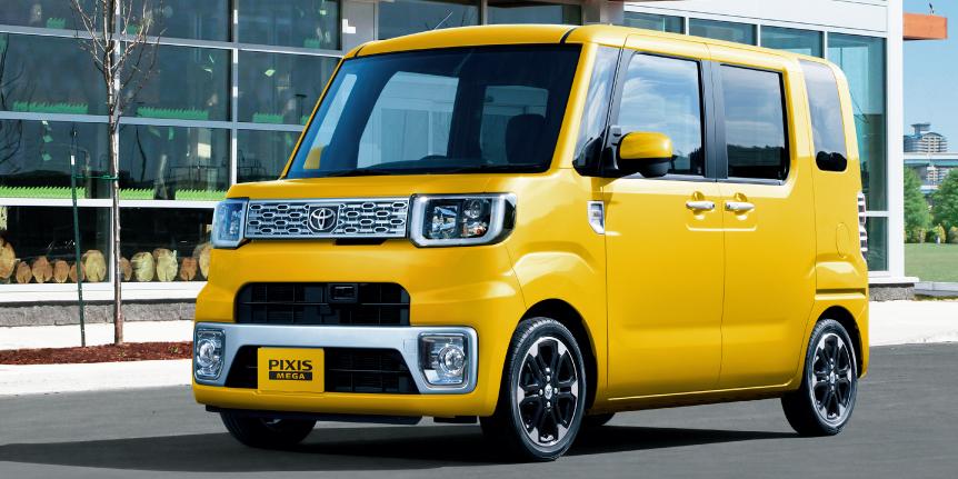 El nuevo juguete de Toyota se llama Pixis Mega: Otro kei-car exclusivo para Japón