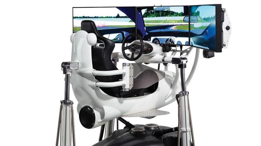 Ojo a este simulador de conducción de 166.479 euros: ¿No prefieres varios coches de verdad?