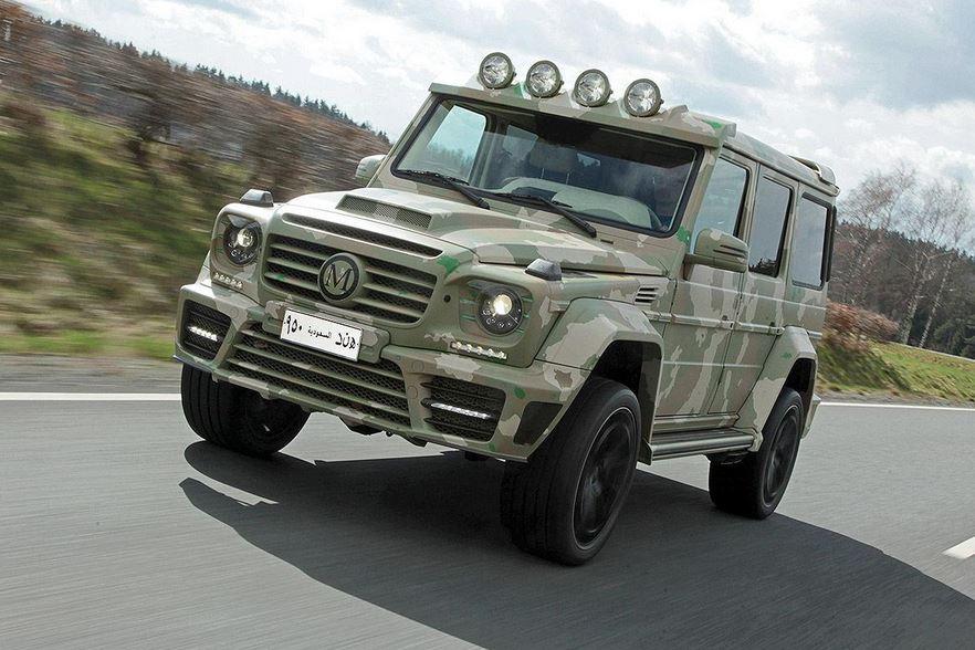 Mercedes-Benz Clase G63 AMG Sahara Edition: MANSORY pide 770.000 euros por sus 828 CV y sus 1000 Nm de par