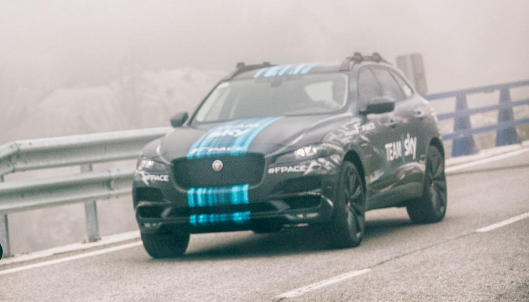 Un prototipo del Jaguar F-PACE rodará en la primera etapa del Tour: Ya queda poco…