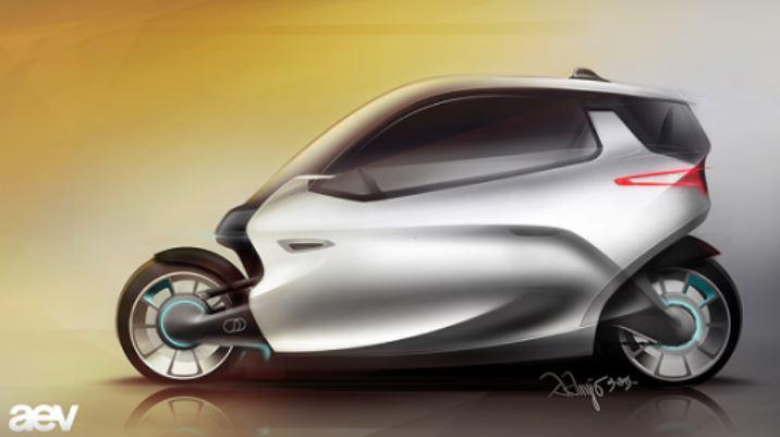 Más estable que un coche: C-1, la moto autobalanceable de Lit Motors