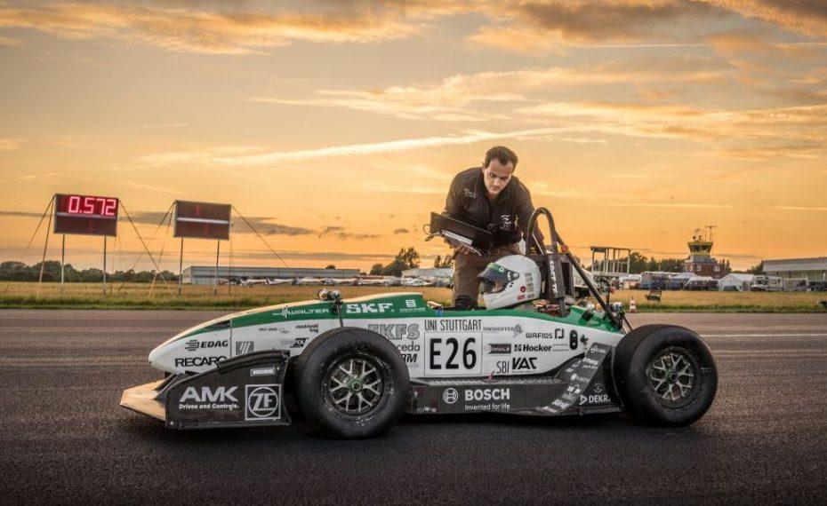 ¿Un 0-100 km/h en 1.779 segundos?: Sí, unos estudiantes alemanes lo han conseguido con su bestia